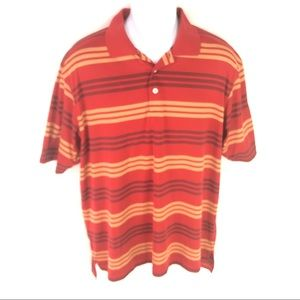 Adidas Men's Climacool Red Polo Shirt L